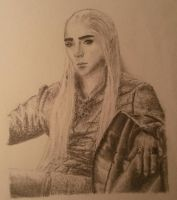 young Thranduil by IsabellaPrince