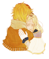 After the Match (Lux x Ezreal) - Secret Santa by Kit-Benzworthy