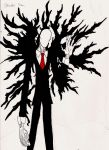 Slender Man The Evil one in the Woods by B-RizzleXXXX