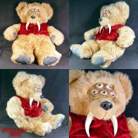 Mortimer Mutated Bear Plush by Undead-Art