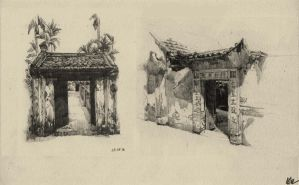 Traditional Vietnamese Architecture by Khuna128