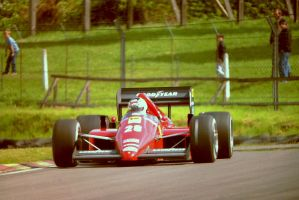 Stefan Johansson (Great Britain Tyre Test 1986) by F1-history