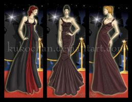 Red Carpet Designs 1 by kukochan