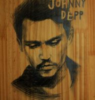 Johnny on my bookshelf by Hallpen