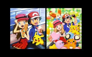 Amourshipping Wallpaper by Samsabuzzing