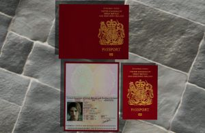 Lara's british passport XPS ONLY!!! by lezisell