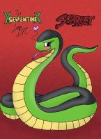 GIFT ART - Scarlet the Python by Dan-the-Countdowner