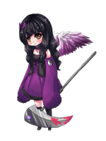 Chibi Point Com: Lavander by Andreia-Chan
