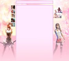 Serah Farron youtube Background FREE by XxClaireStrifexX