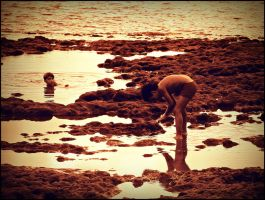 Looking for a treasure... by agolam