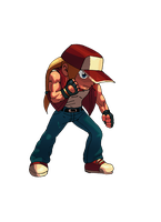 Terry Bogard Chibi Style by ss2sonic