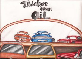 Thicker Than Oil - Cover by Asphalt-Cowgirl