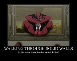 alucard wall walking motivational by alucardserasfangirl