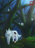 Mononoke by Minks-Art