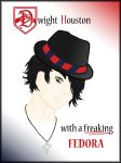 Dwight with Fedora by Thamun