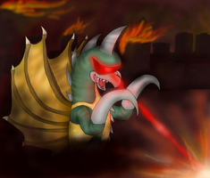 Gigan by PlagueDogs123