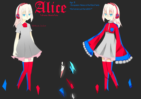 . : Alice Reference Sheet : . by sen-hai