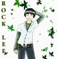 Rock Lee by Nikkou89