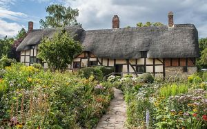 Anne Hathaway's Cottage and Gardens by TarJakArt