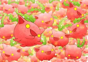 Like Flying Strawberries by goyong