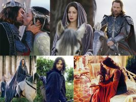 Aragorn and Arwen Wallpaper by Subaru-chan
