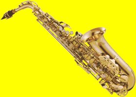 Saxophone Paint By Number Art Kit by numberedart