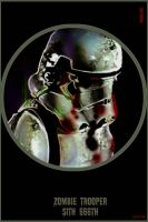 iPhone 4 Zombie Trooper 666th by Eat-Sith
