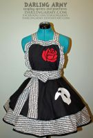 Phantom of the Opera Cosplay Pinafore Commission by DarlingArmy