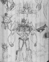 Optimus Prime collage - FEELZ!!! by MNS-Prime-21