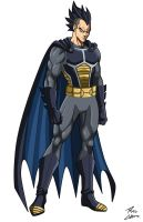 Brugeta (Vegeta/Batman fusion) by phil-cho