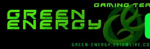 Green Energy header by Ramche