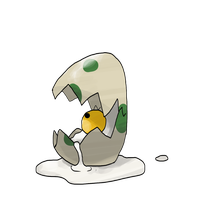 Congratulations! Your Egg Hatched Into... Er... by locomotive111