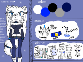 Ashley Ref by AshleytheWolff