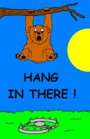 Hang In There, Bear by AVRICCI