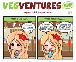 VV7: Vegans think they're better by Pupastuff