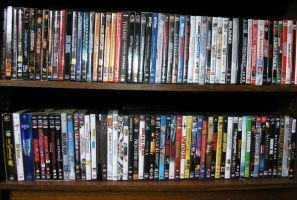 A part of My dvd collection by marty-mclfy
