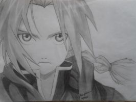 Edward Elric by bingkee