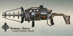 Lightning Gun by TheRollingMan