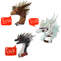 Flight Rising tumblr IDs (Part 1) by NegativeDiamond