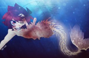 Merman-Mad!Cry by Nadi-Chan