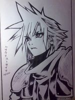 Crisis Core: Cloud Strife by smilingxqueen