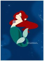 The little Mermaid by PianoVintageGirl