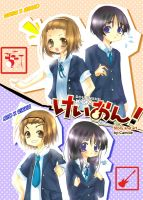 Cover K-on Doujin by CamiIIe