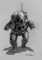 space suit by onthesquare