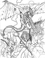 Lady Dragonslayer by Charger426