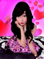 Alodia Gosiengfiao Cartoon Painting. by venti-bucks
