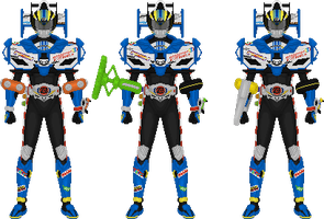 Kamen Rider Drive, Type Formula Tires by Taiko554