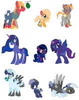 Family Adopts Batch 6 Soarinlane out by Yoshi123pegasister