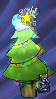Christmas Tree by flaries
