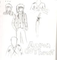 ao no exorcist Oc : aaron clotheart the 2nd by demonxslayer12